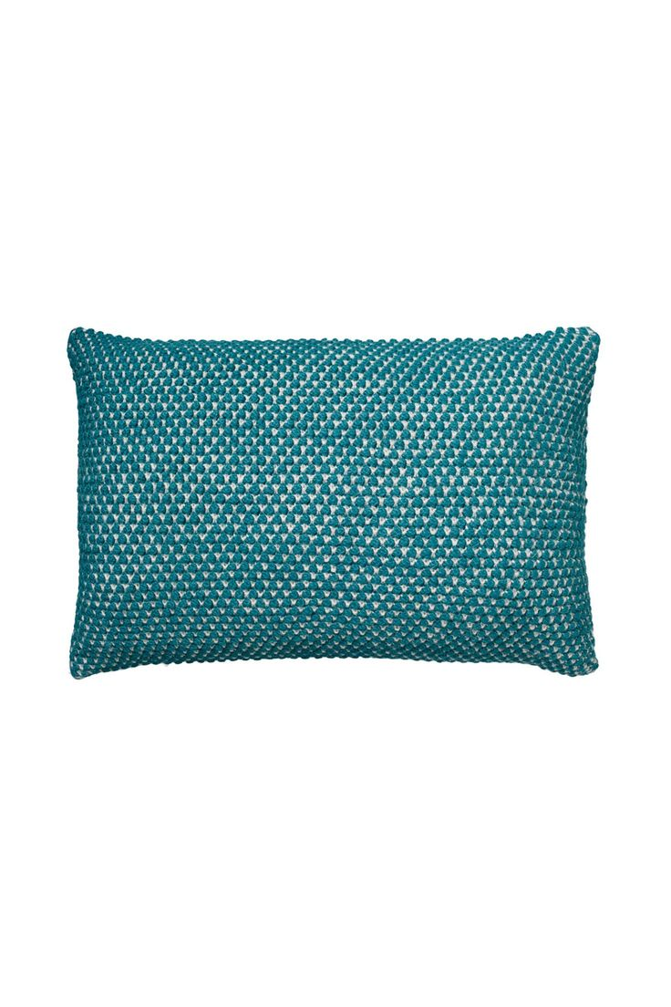 Pillowcase_knit_Pudebetræk_strik_Heather_jungle_air