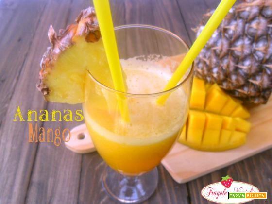 Succo Ananas Mango Anticellulite  #ricette #food #recipes