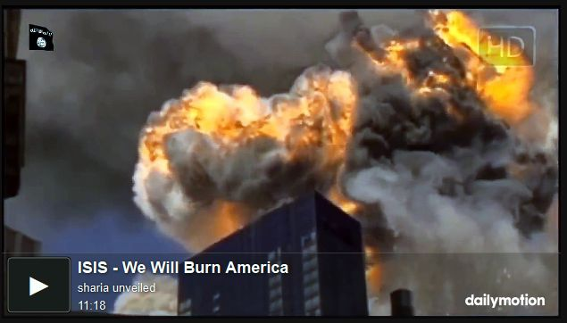 NEW ISIS VIDEO Calls for '..Attacks on America and Another 9/11..' – 'We Will Burn America' (HOT Video Release – Matches Not Incl.) | WARNING CONTAINS GRAPHIC IMAGES