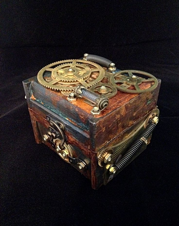 29 best Steampunk Boxes images on Pinterest Jewel box Jewelry box