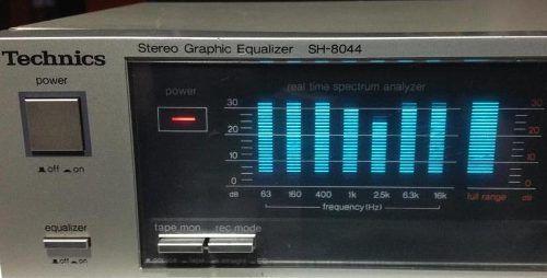 Equalizador Technics Sh- Vintageno Pioneer Marantz Sansu