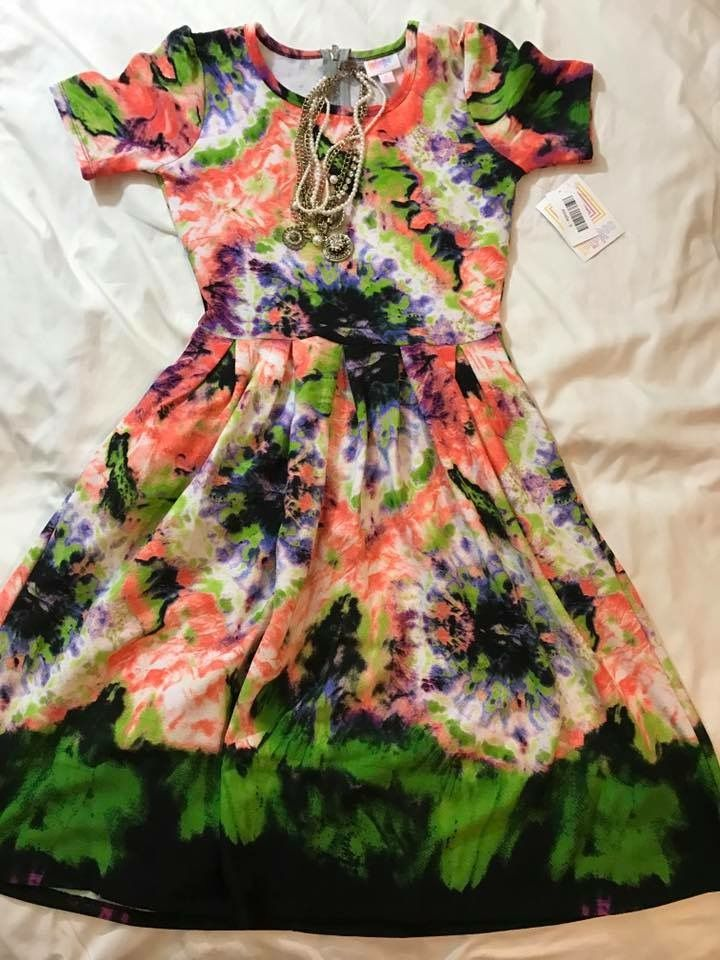 THE Amelia, LuLaRoe Amelia dress, flatlay, unicorn