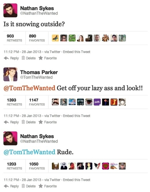 just bringing this back again. Oh the wanted boys :)
