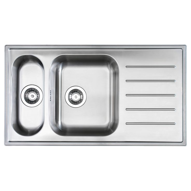 BOHOLMEN 1 1/2 Bowl Inset Sink With Drainer   IKEA