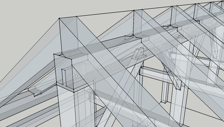 A nice drawing showing joinery between rafters and king post in a timber frame - http://mikebeganyi.com/tag/timber-frame-design/?utm_content=buffer58b1e&utm_medium=social&utm_source=pinterest.com&utm_campaign=buffer