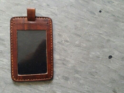 Leather badge by MyHand