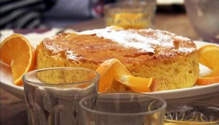 Orange cake - Hairy Bikers
