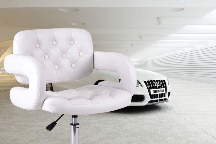 Toko tukang cukur kursi perempuan Kecantikan manicure toko ritel putih merah hijau hitam PU kursi bangku kursi grosir gratis pengiriman