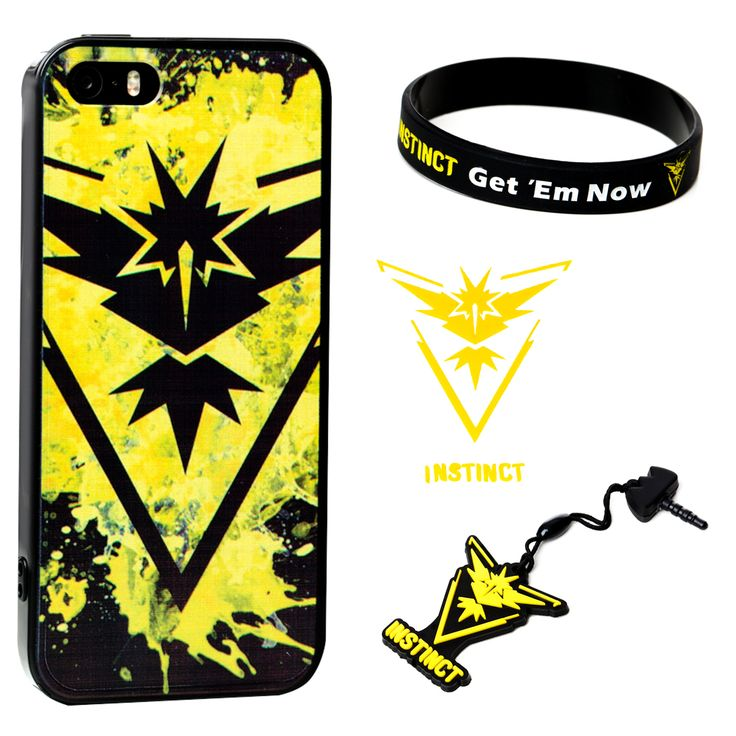 Amazing gifts for kids who are Pokemon Go freaks!  Buy these at Amazon as birthday or Christmas presents - or maybe you just want them to be the coolest kid in class!  Team Instinct rules!