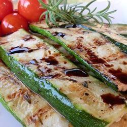 Zucchini grillé, balsamique