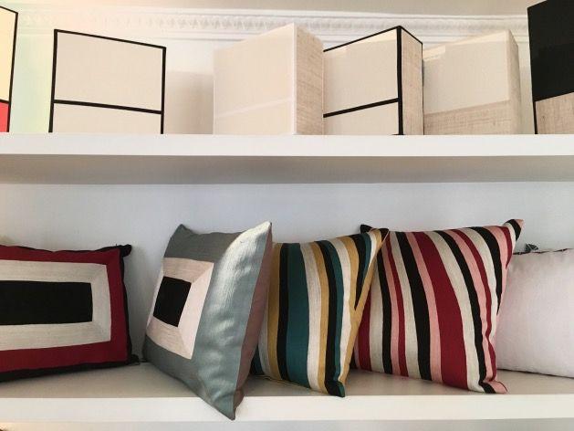 boutique sarah lavoine rue du bac par coussin color sarah lavoine et coussin ethnique. Black Bedroom Furniture Sets. Home Design Ideas