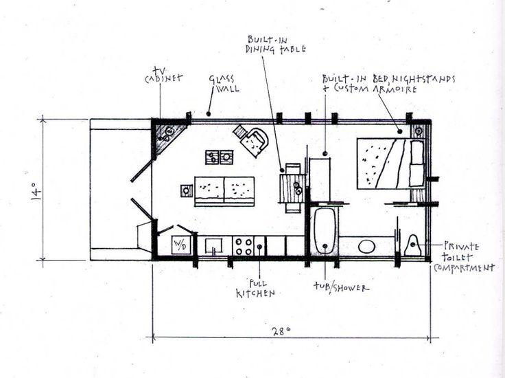 1000 id es sur le th me plans secondaires sur pinterest for Arched cabin floor plans