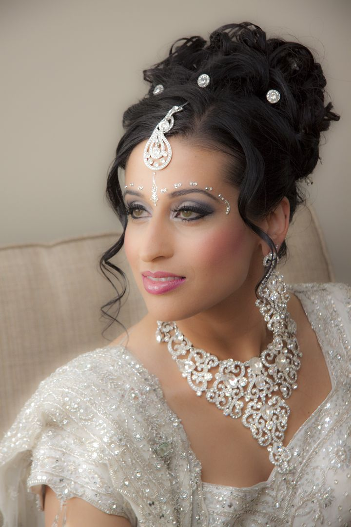 bridal hair style 57 best images about indian on indian bridal 7746
