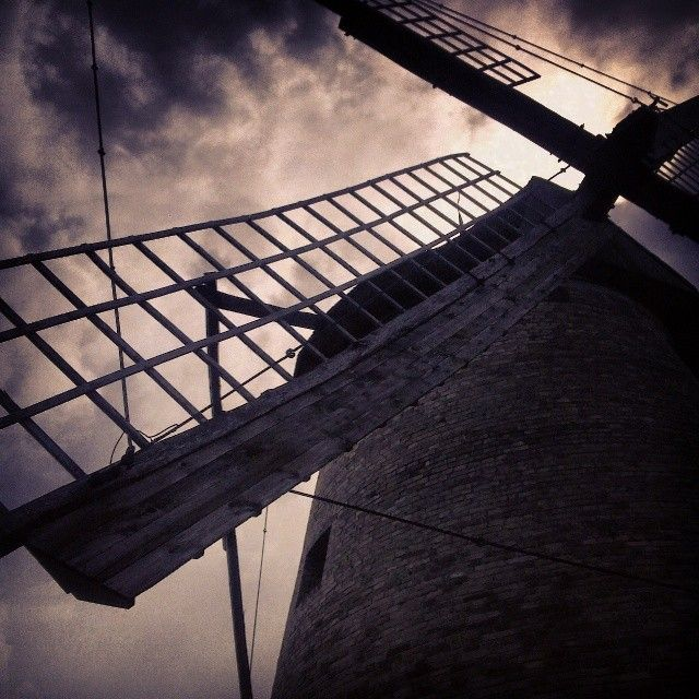 Skanzen, windmill