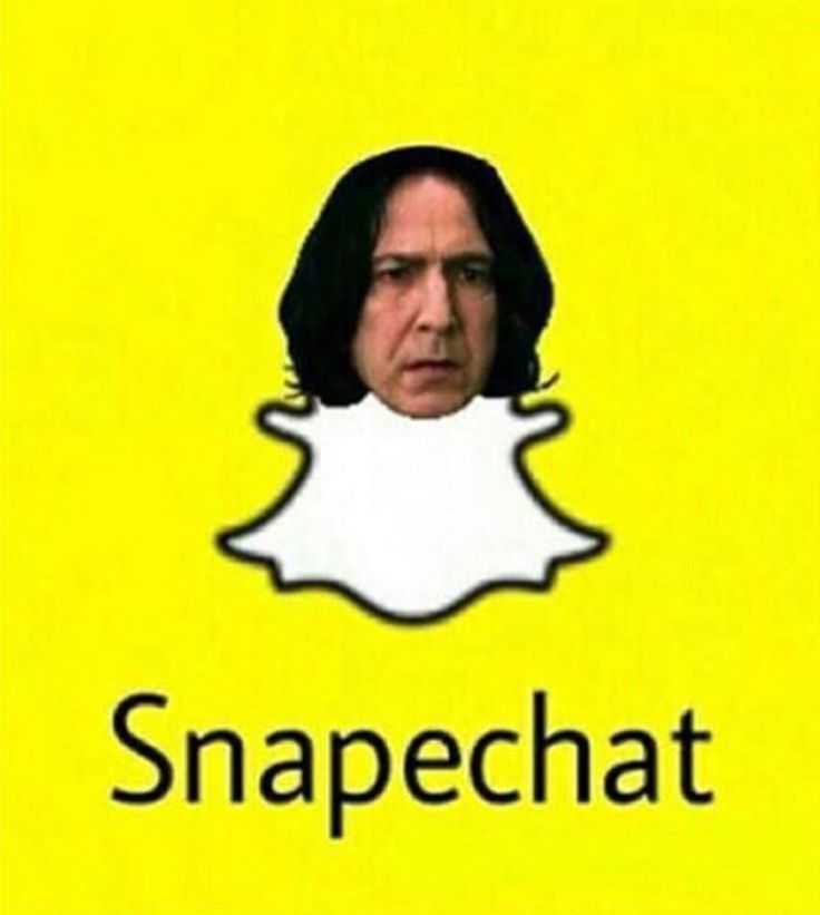 Snapechat #SNAPE #HARRY POTTER