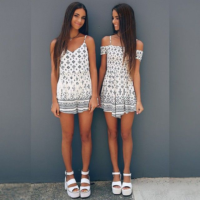 Match with your bff at your favorite festival this spring. Let Daily Dress Me help you find the perfect outfit for whatever the weather! dailydressme.com/