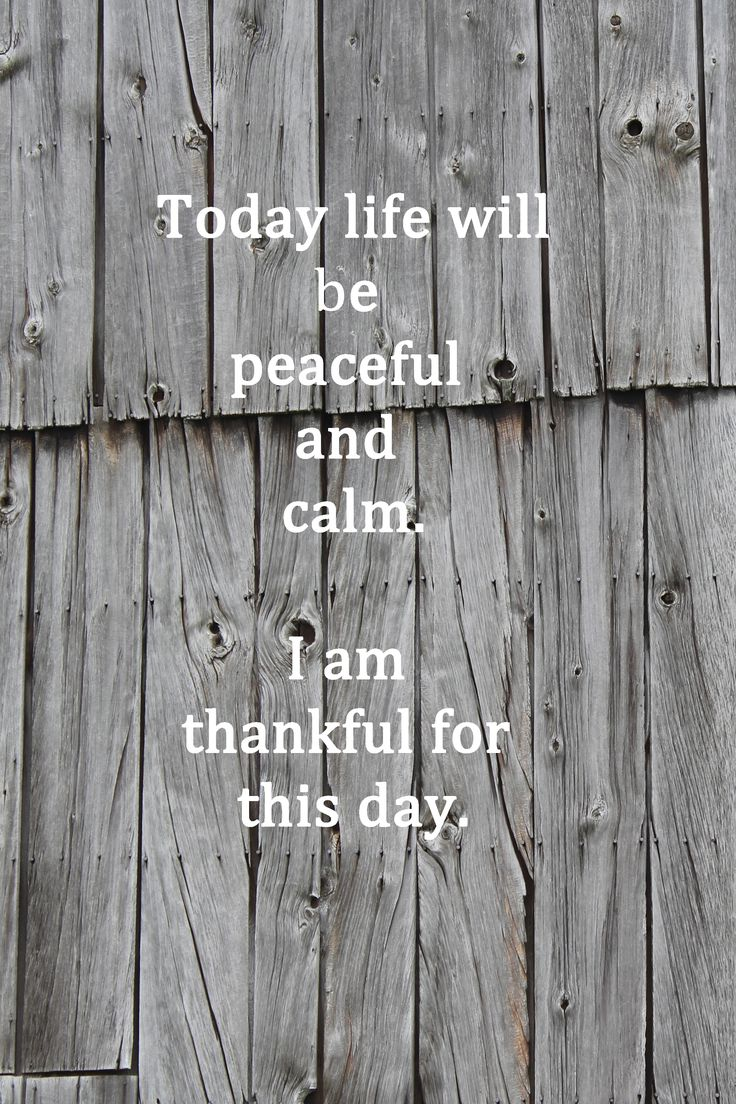 Today life will be peaceful and calm.  I am thankful for this day.  #affirmations #resolutions #intentions 2016