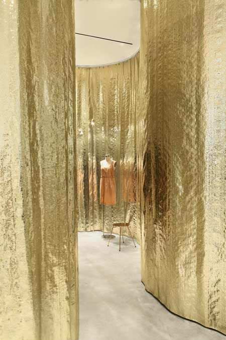 Derek Lam store by SANAA The Goldfinger...