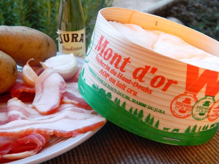 Première boîte chaude 2015 en préparation... #montdor #franchecomte #jura #recette #fromage