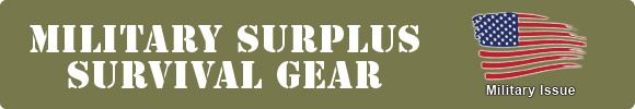 Military Surplus Survival Gear - SEE THE BEST SURVIVAL PRODUCTS AT http://www.selfdefensegearco.com/survival-gear.php