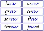 Vowel phonemes for literacy lessons. Identifying different letter patterns.