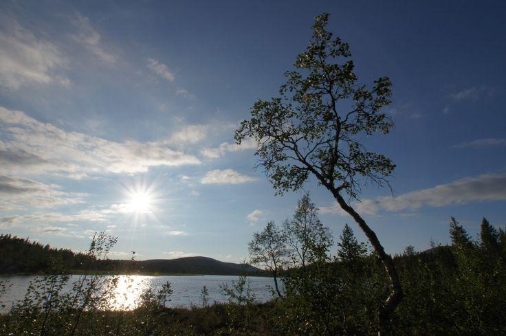 Kärppäjärvi. UKK-kansallispuisto. Finland