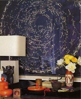 Star chart - i need this in my house somewhere!