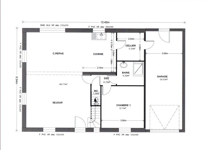 Best Plan Maison Images On   Floor Plans Architecture