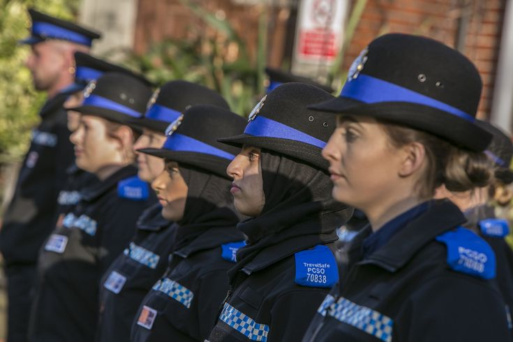 Today, Friday 26 January 2018, saw Greater Manchester Police's latest police community support officers (PCSOs) complete their training in preparation for beginning duty on the streets of Greater Manchester.  The occasion was marked by a passing-out parade at the Force's Sedgley Park Centre. The event was attended by the Force's Chief Constable Ian Hopkins. www.gmp.police.uk