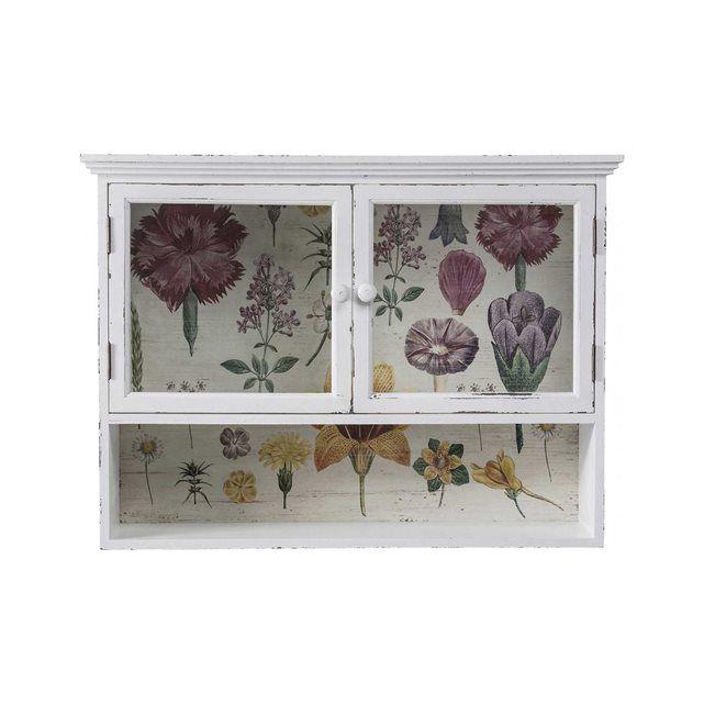 Vitrine murale Flower Garden 2 portes Kare Design KARE DESIGN : prix, avis &…