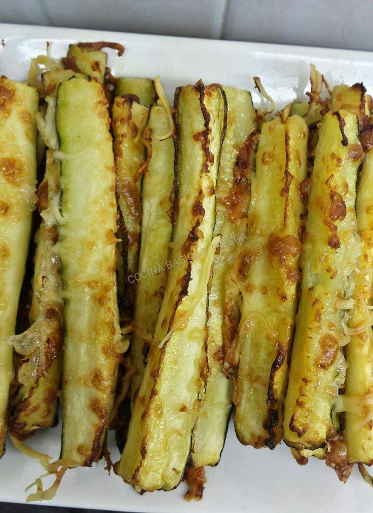 Cocina Basica y Fresca: CALABACINES GRATINADOS CON QUESO CBF@