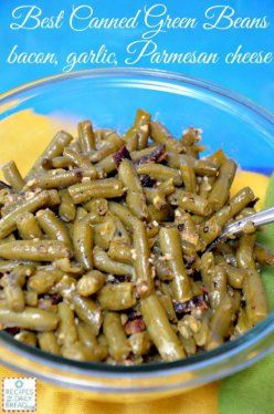 CANNED GREEN BEANS DO NOT HAVE TO TASTE LIKE A TIN CAN