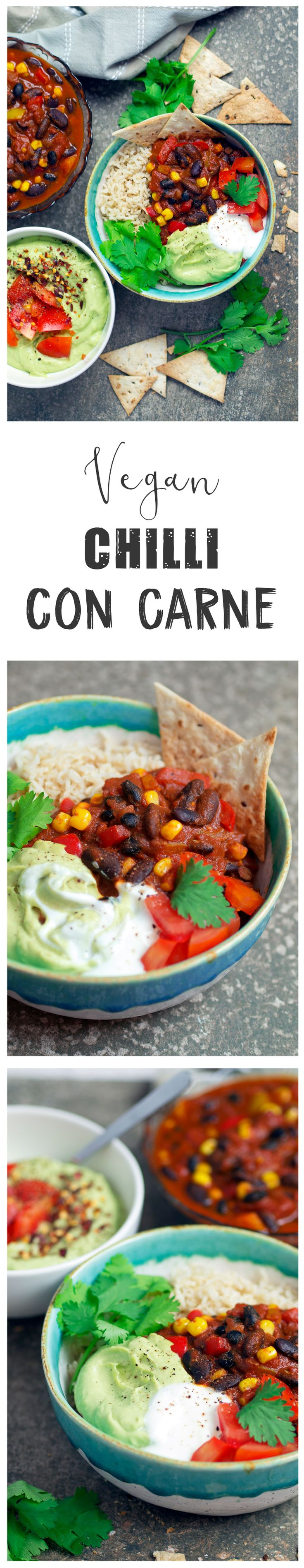 Vegan chilli con carne | Nadias healthy kitchen