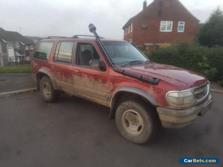 1998 FORD EXPLORER 4.0 V6 AUTO RED #ford #explorer40v6auto #forsale #unitedkingdom