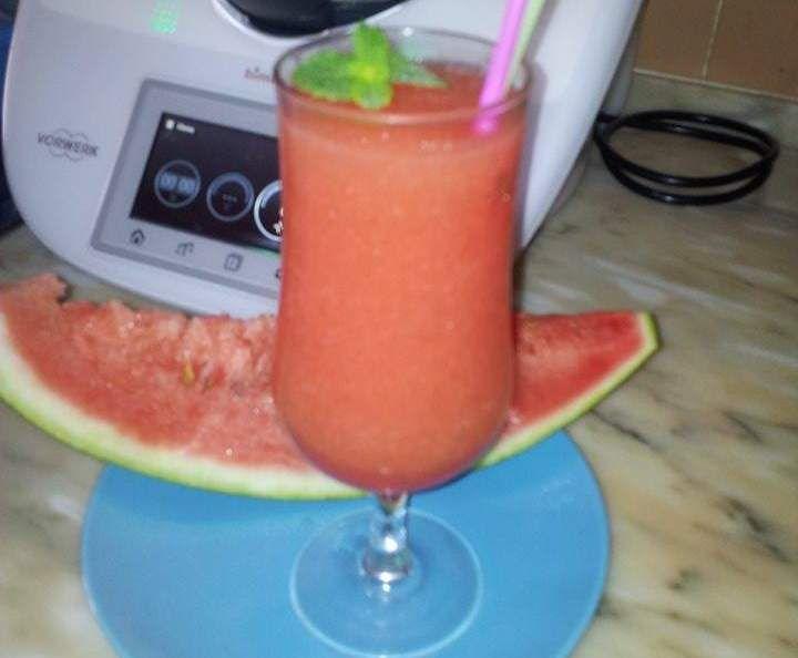 Receita Granizado de melancia por Jura - Categoria da receita Bebidas