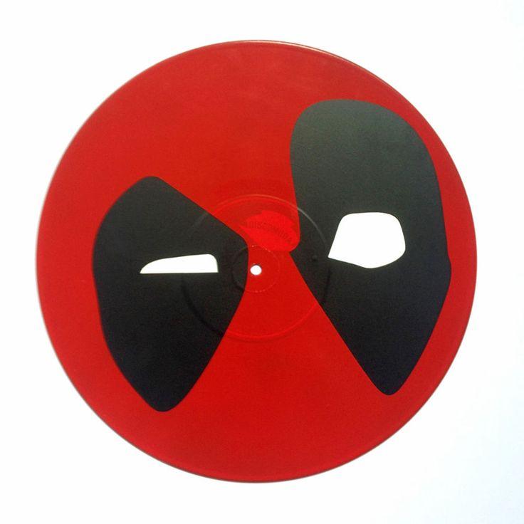 DEADPOOL Disco de vinilo decorativo Vinyl record wall art (spray color). | eBay!
