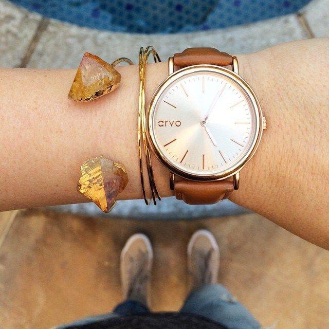 Leather Band Arvo Watches | Jane