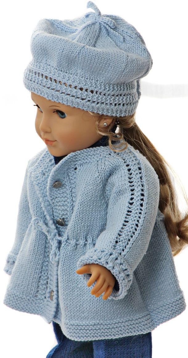 198 best Knitting patterns for doll clothes images on Pinterest ...
