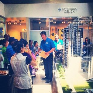 Lots of our VIPs gathering around our beautiful scale model of the first phase of @melivingcondos!