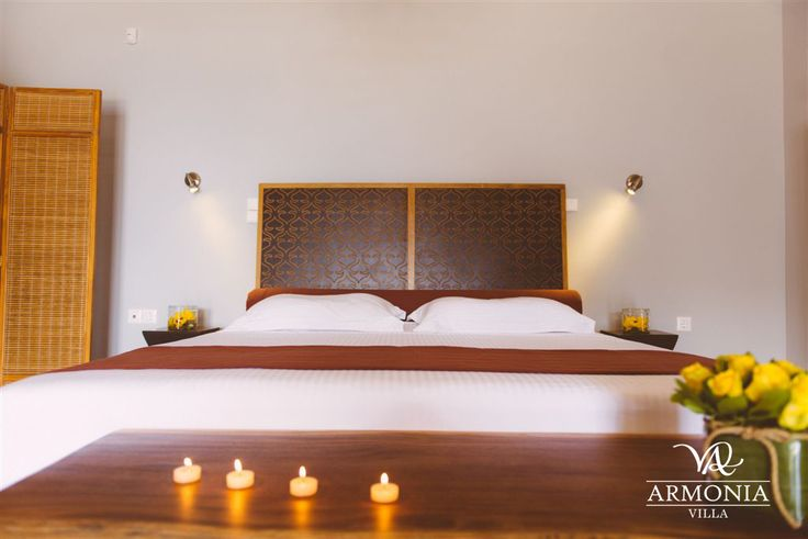 Villa Armonia |double COCO MAT bedroom