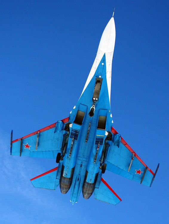 Russian Su-27 'Flanker' Air Superiority  fighter  --- Russian Knight
