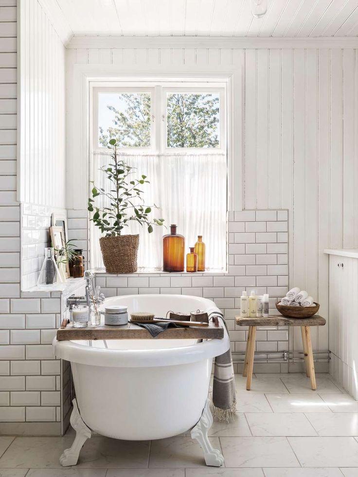Ett vackert badrum ger plats för rofylld återhämtning. Kika in och inspireras