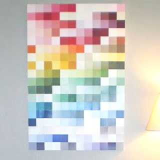 25 Unique Paint Sample Wall Ideas On Pinterest