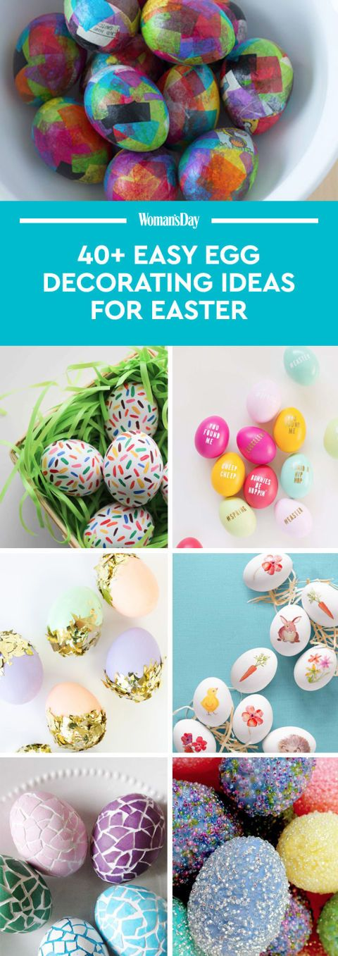 52 Easy Egg Decorating Ideas to Get