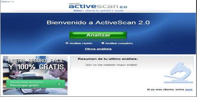 Aplicaciones Web de AntiVirus Online GRATIS