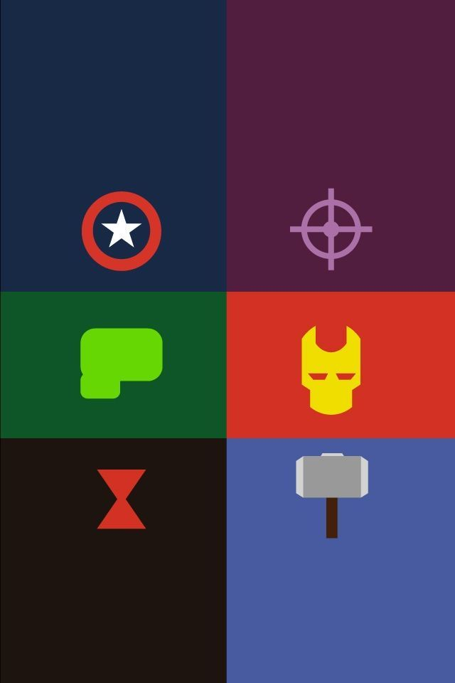 Avengers IPhone Wallpaper Captain America Hawkeye Hulk Iron Man Black Widow