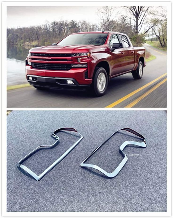 For Chevrolet Silverado Accessories 20192020 ABS Chrome