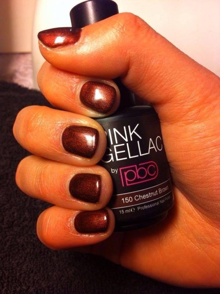 7 best Pink Gellac 150 Chestnut Brown Gel Nail Polish Colour images ...