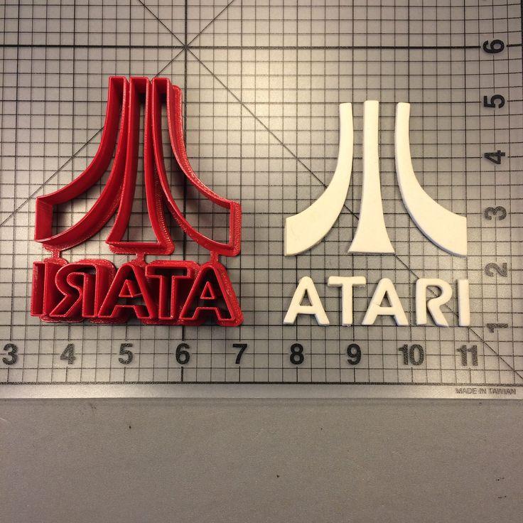 Atari Logo 100 Cookie Cutter