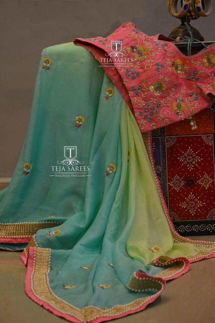 TS-SR- 344Available..Pure Chiffon saree paired with a pearl work blouseFor orders/querieswhatu2019s app us on8341382382 orCall us @8790382382Mail us tejasarees@yahoo.com LikeNeverBefore  Tejasarees  Newdesigns  icreate  sarees  tejupavuluri  hyd  pearlworks  chiffons  tejaethnicstudio  sareeloveStay Amazed!! Team Teja!!  10 January 2017
